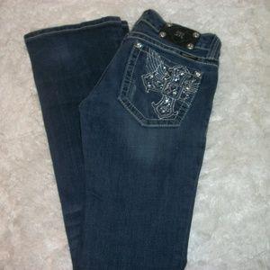 Miss Me Jeans - Miss Me Jeans Size 28x32 Distressd Embellished